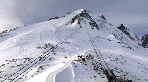 Grande Motte, Tignes, France - Weather to ski - Today in the Alps, 4 December 2015