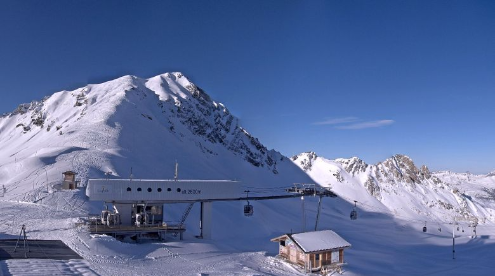 Les Arcs, France - Weather to ski - Today in the Alps, 8 December 2015