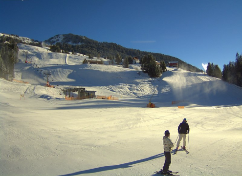 Damüls, Austria - Weather to ski - Today in the Alps, 10 December 2015