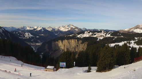 Avoriaz, France - Weather to ski - Today in the Alps, 15 December 2015