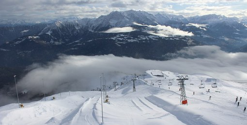 Laax, Switzerland - Weather to ski - Season progress report, Mid December 2015