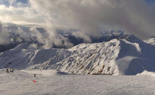 La Plagne, France - Weather to ski - Season progress report, Mid December 2015
