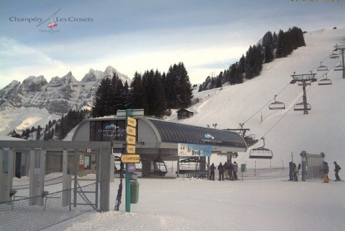 Zinal, Switzerland - Weather to ski - Snow report, 17 December 2015