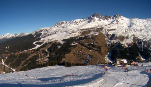 Méribel, France - Weather to ski - Today in the Alps, 19 December 2015