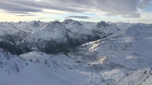St Anton, Austria - Weather to ski - Today in the Alps, 21 December 2015
