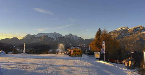 Alta Badia, Italy - Weather to ski - Today in the Alps, 24 December 2015