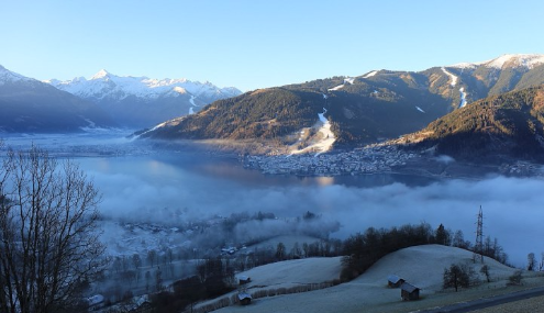 Zell-am-See, Austria - Weather to ski - Today in the Alps, 24 December 2015