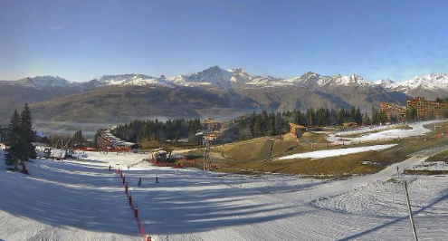 Les Arcs, France - Weather to ski - Today in the Alps, 28 December 2015