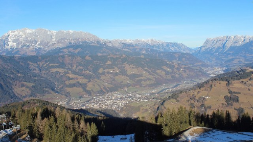 St Johann im Pongau, Austria - Weather to ski - Today in the Alps, 28 December 2015