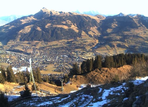 Kitzbühel, Austria - Weather to ski - Today in the Alps, 29 December 2015