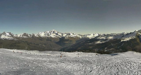 Montchavin-Les Coches, France - Weather to ski - Today in the Alps, 30 December 2015
