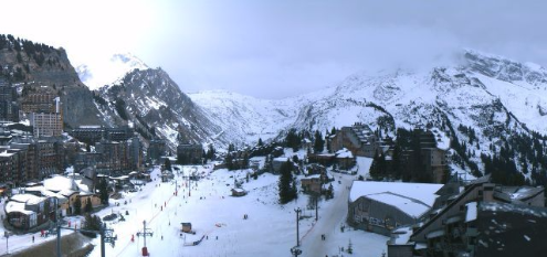 Avoriaz, France - Weather to ski - Today in the Alps, 31 December 2015