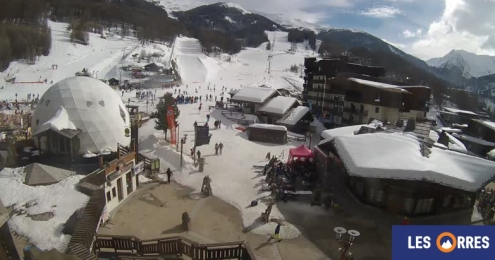 Les Orres, France – Weather to ski – Snow report, 22 February 2018