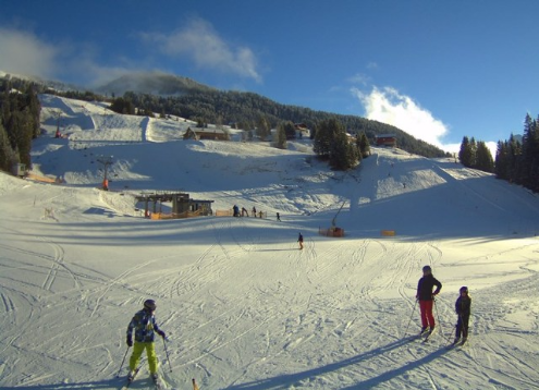 Damüls, Austria - Weather to ski - Today in the Alps, 1 January 2016