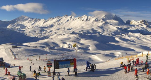 Val d'Isère, France - Weather to ski - Today in the Alps, 6 January 2016
