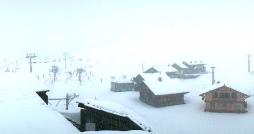 Avoriaz, France - Weather to ski - Today in the Alps, 9 January 2016