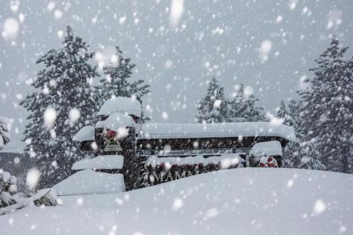 Banff, Canada - Weather to ski - Snow report, 11 January 2016
