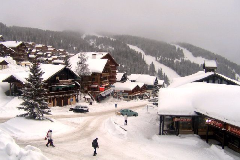 Les Saisies, France - Weather to ski - Today in the Alps, 13 January 2016