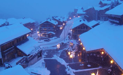 Méribel, France - Weather to ski - Today in the Alps, 14 January 2016