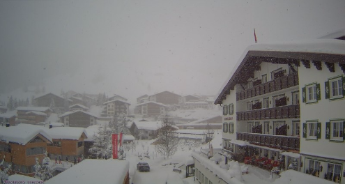 Lech, Austria - Weather to ski - Today in the Alps, 17 January 2016