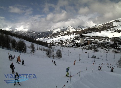 Sestriere, Italy – Weather to ski – Snow report, 29 March 2018