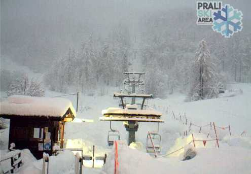 Prali, Italy – Weather to ski – Snow report, 12 April 2018