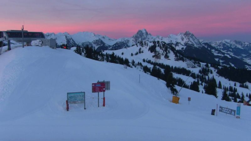 Gstaad, Switzerland - Weather to ski - Today in the Alps, 26 January 2016