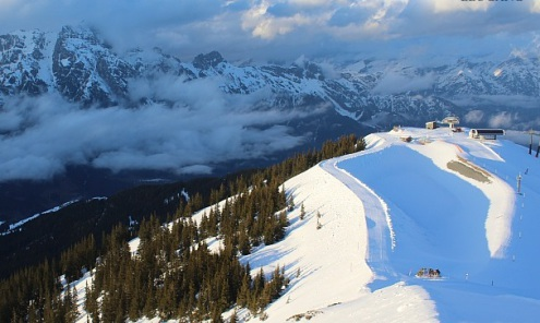 Zell-am-See, Austria - Weather to ski - Snow report, 28 January 2016