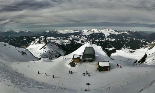 Morzine, France - Weather to ski - Today in the Alps, 30 January 2016