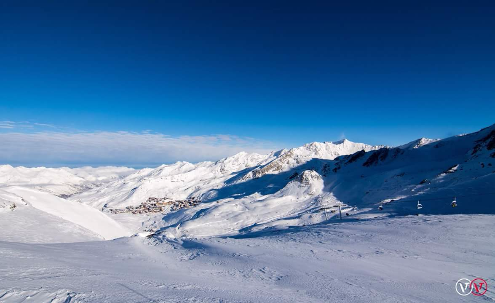 Val Thorens, France - Weather to ski - Today in the Alps, 4 February 2016