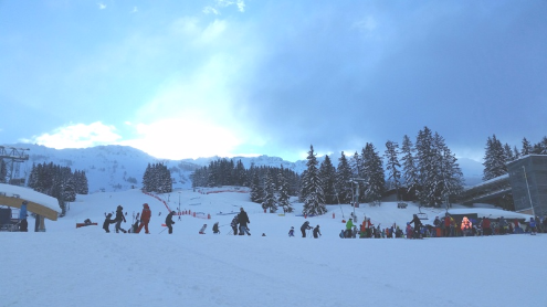 Les Arcs, France - Weather to ski - Today in the Alps, 16 February 2016