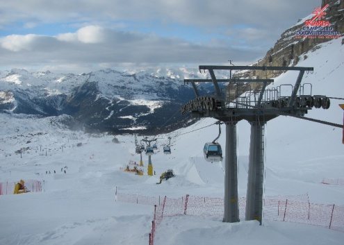 Cortina, Italy - Weather to ski - Snow report, 18 February 2016