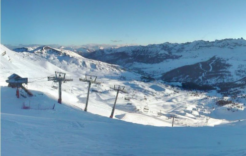 Risoul, France - Weather to ski - Today in the Alps, 19 February 2016