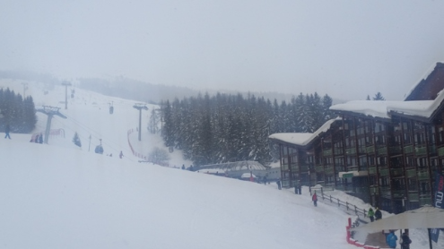 Les Arcs, France - Weather to ski - Today in the Alps, 19 February 2016