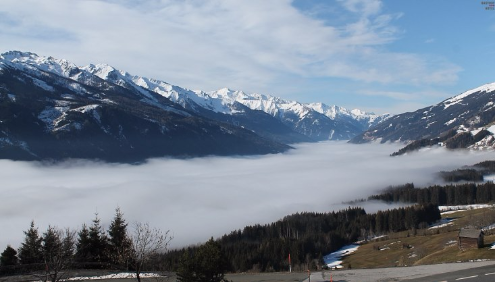 Pass Thurn, Austria - Weather to ski - Today in the Alps, 22 February 2016