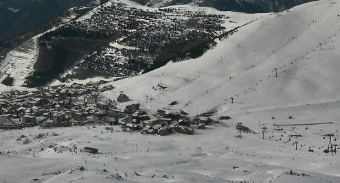 Les Saisies, France - Weather to ski - Snow report, 22 February 2016