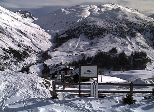 Sestriere, Italy - Weather to ski - Snow report, 22 February 2016
