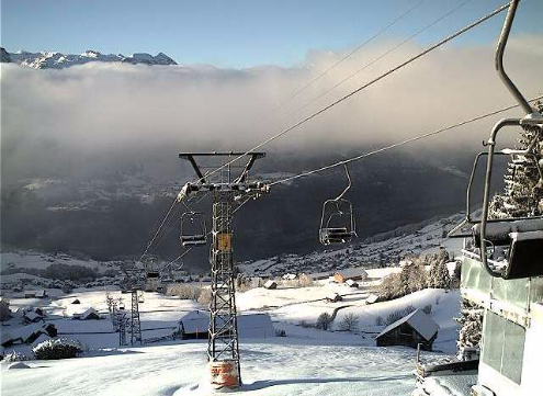Amden, Switzerland - Weather to ski - Today in the Alps, 24 February 2016