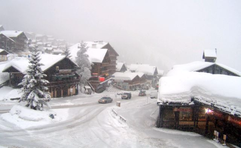 Les Saisies, France - Weather to ski - Today in the Alps, 25 February 2016