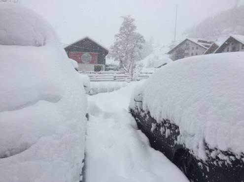 Extreme snow depths in parts of Austria. This is Kaunertal – 10 January 2019 – Photo: kaunertal.at Kaunertal, Austria – Weather to ski – Snow report, 10 January 2019