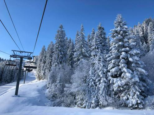 Morzine, France – Weather to ski – Snow report, 10 January 2019