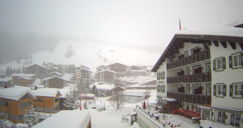 Lech, Austria - Weather to ski - Today in the Alps, 29 February 2016