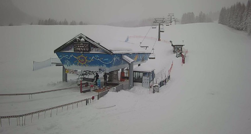Cortina, Italy - Weather to ski - Today in the Alps, 3 March 2016
