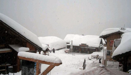 Les Lindarets, France - Weather to ski - Today in the Alps, 3 March 2016