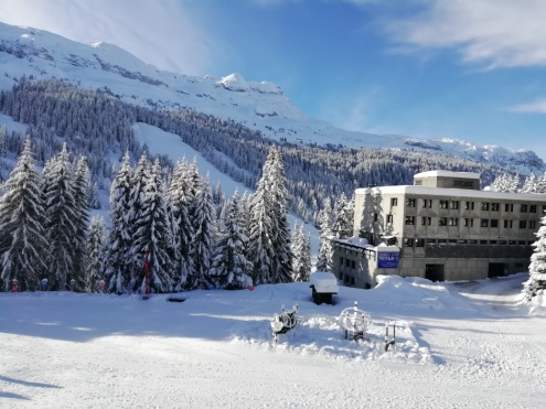 Flaine, France - Weather to ski - Our blog: Flaine's ski paradise