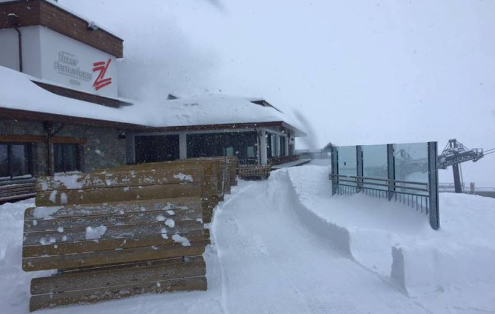 Hintertux, Austria - Weather to ski - Today in the Alps, 6 March 2016