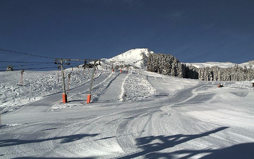 Champoussin, Switzerland - Weather to ski - Today in the Alps, 9 March 2016