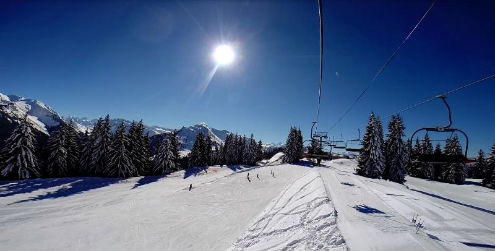 Morzine, France - Weather to ski - Season progress report, 10 March 2016