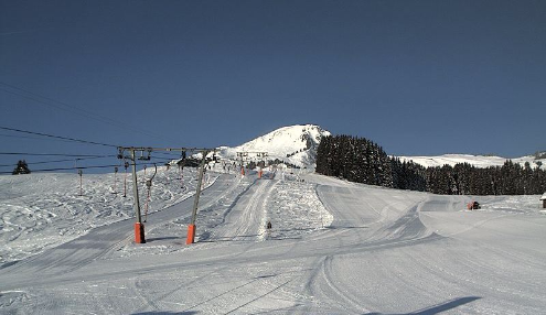 Champoussin, Switzerland - Weather to ski - Today in the Alps, 11 March 2016