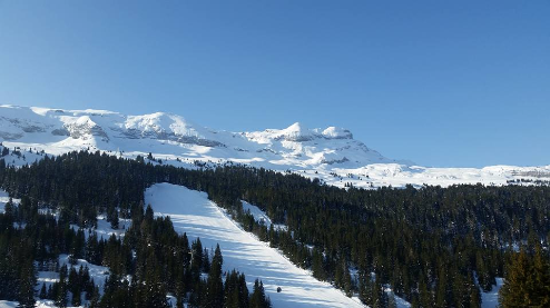 Flaine, France - Weather to ski - 14 March 2016